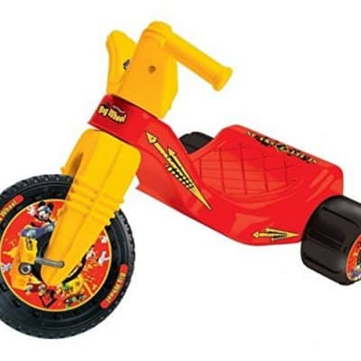 Save 50% on the Disney Big Wheel Junior Racer Mickey Mouse Ride On, Free Shipping Eligible!