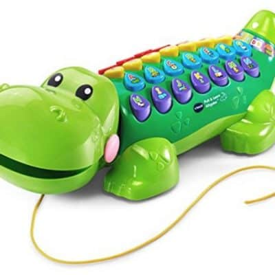 Save 50% on the VTech Pull and Learn Alligator, Free Shipping Eligible!