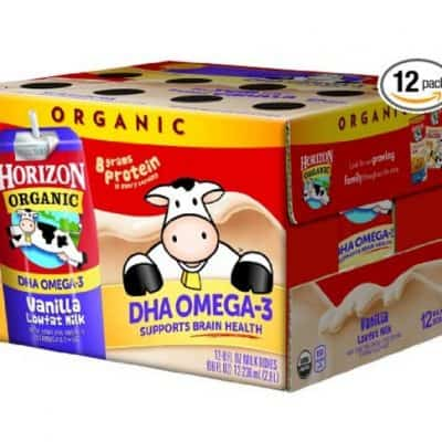 Horizon Organic Low Fat Organic Milk Box Chocolate or Vanilla (Pack of 12) only $11.38, Free Shipping Eligible!