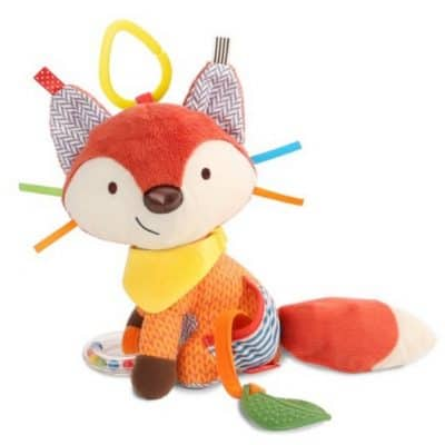 Save 31% on the Skip Hop Bandana Buddies Soft Activity Toy Fox, Free Shipping Eligible!