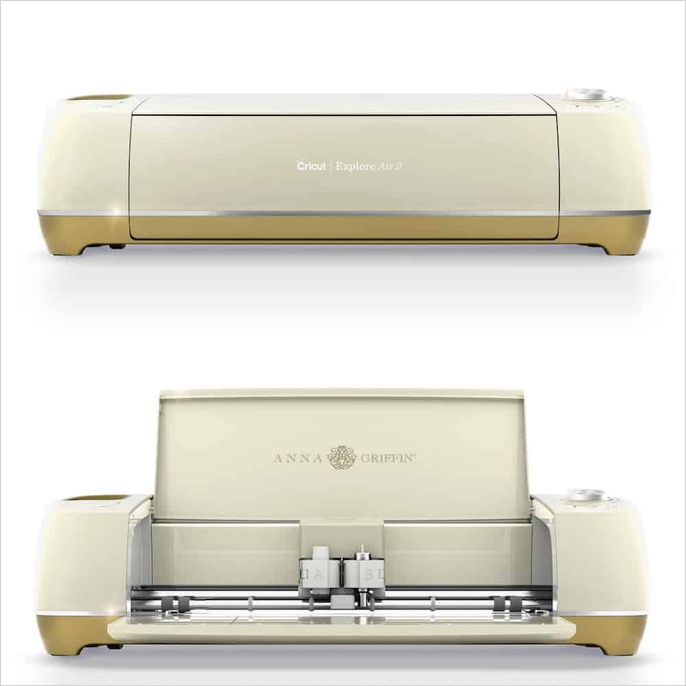 gold Cricut explore air 2 review