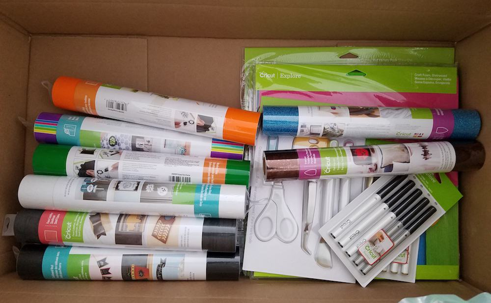 cricut explore Air 2 review supplies