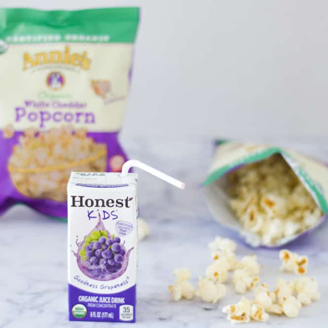 honest kids and annies white cheddar popcorn review