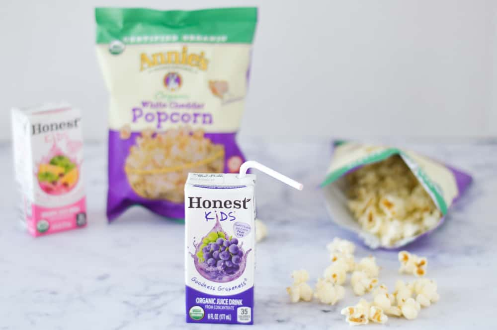 honest kids and annies white cheddar popcorn