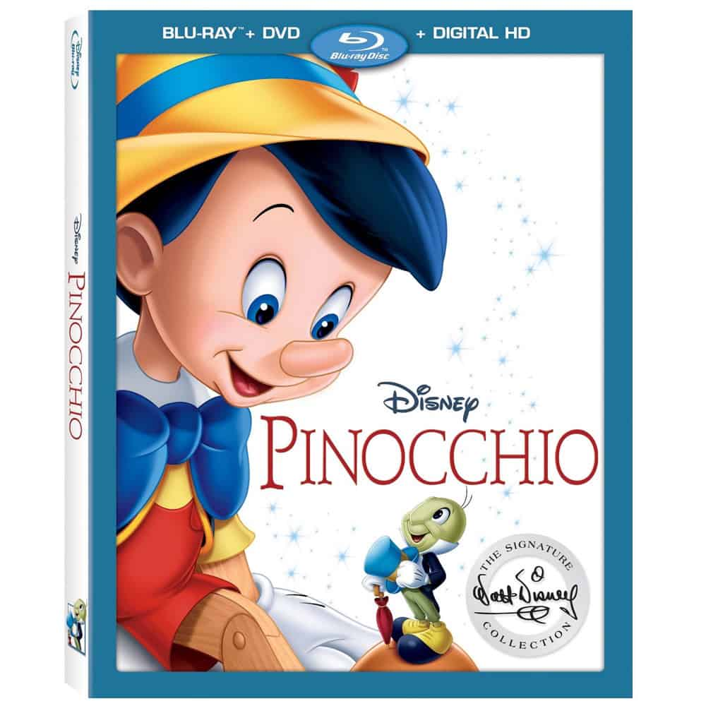 pinocchio bonus features
