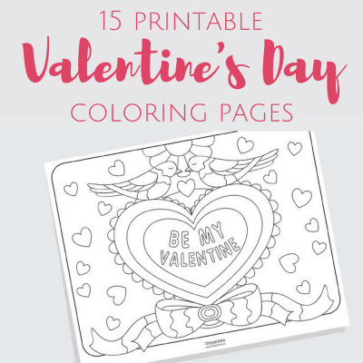 Free Printable Valentine's Day Coloring Pages for Adults and Kids