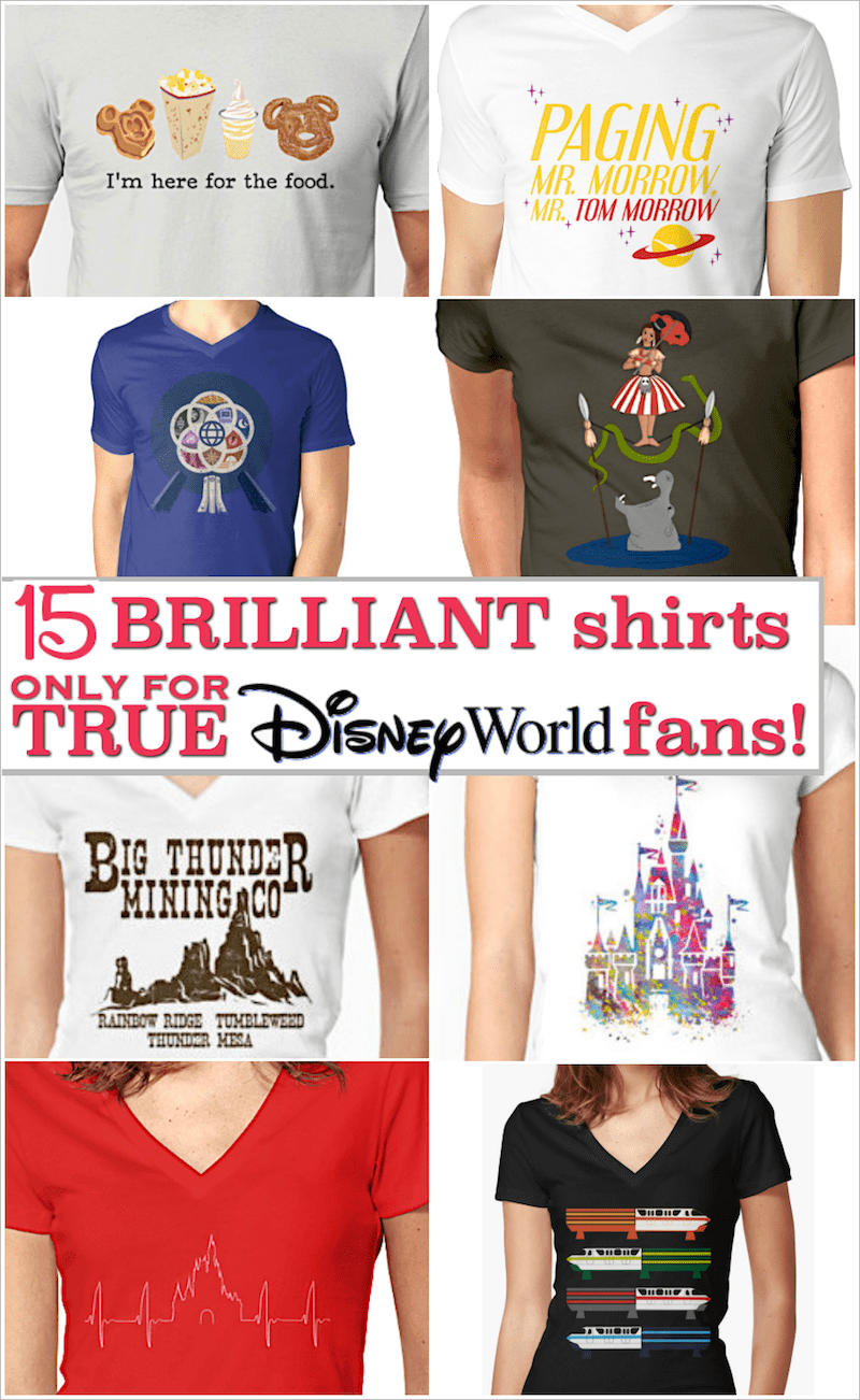 unique disney shirts for disney world