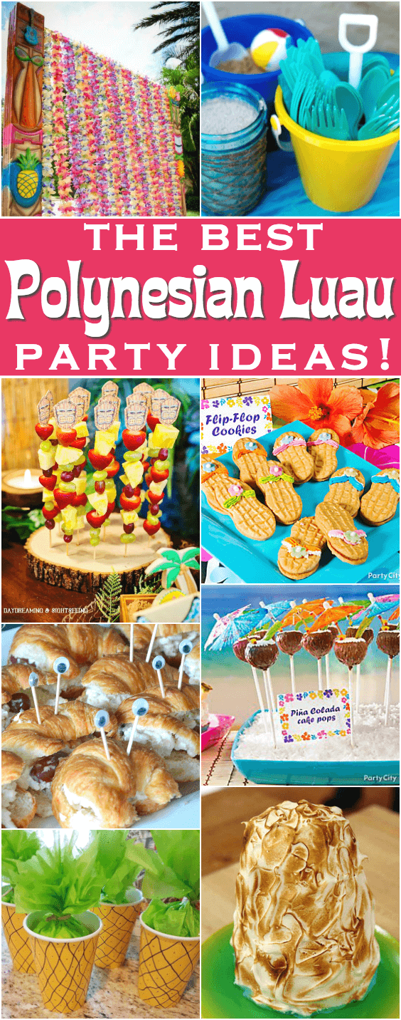 Polynesian luau party ideas