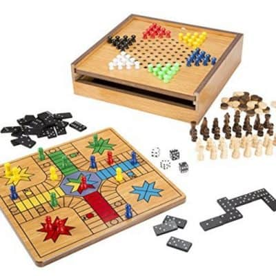 Save 45% on the 7-in-1 Combo Game with Chess, Ludo, Chinese Checkers & More, Free Shipping Eligible!