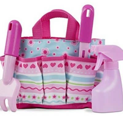 Save 21% on the Melissa & Doug Sunny Patch Pretty Petals Gardening Tote Set With Tools, Free Shipping Eligible!