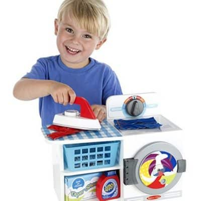 Save 30% on the Melissa & Doug Wash, Dry and Iron Play Set, Free Shipping Eligible!