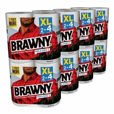 Save on Brawny Pick-a-Size Paper Towels, 16XL Rolls only $18.48, Free Shipping Eligible!