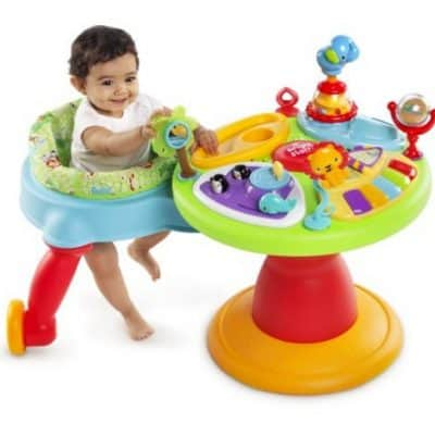 Save 45% on the Bright Starts Around We Go 3-in-1 Activity Center Zippity Zoo, Free Shipping Eligible!