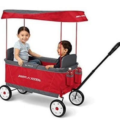 Save 32% on the Radio Flyer Kid's Ultimate EZ The Best Folding Wagon Ride On, Free Shipping Eligible!