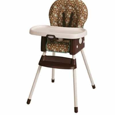 Save 50% on the Graco SimpleSwitch Convertible High Chair and Booster, Free Shipping Eligible!