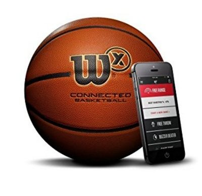 Save 50% on the Wilson X Connected Smart Basketball {with Sensor that Tracks Shots}, Free Shipping Eligible!