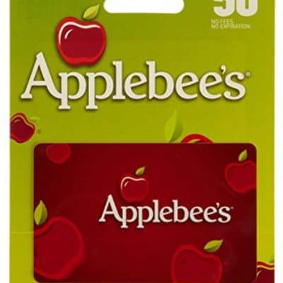 Save $10 On $50 Applebees Gift Card, Free Shipping Eligible!