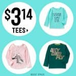 Crazy8 Pi Day Sale: $3.14 Tees & More!
