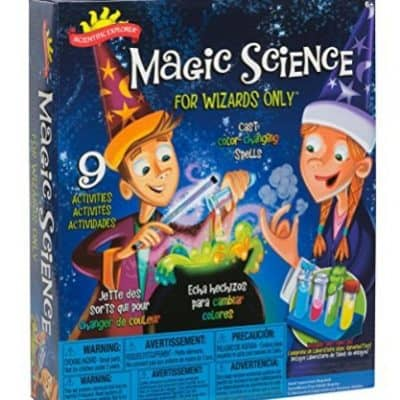 Save 55% on the Scientific Explorer Magic Science Kit for Wizards Only, Free Shipping Eligible!
