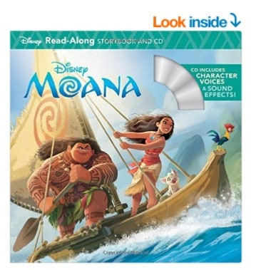 Save 47% on the Moana Read-Along Storybook & CD (Read-Along Storybook and CD) , Free Shipping Eligible!