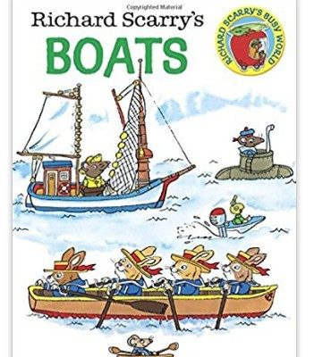 Richard Scarry's Vehicle Board Books (Trucks, Planes and Boats) only $1.99 Each, Free Shipping Eligible!