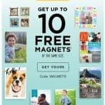 Shutterfly Promo Code: 10 FREE Magnets!