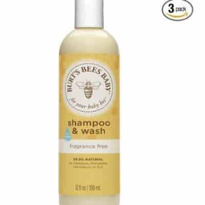 Amazon Coupon Deal: Save an Extra 20% off Burt's Bees Baby Shampoo & Wash, Free Shipping Eligible!