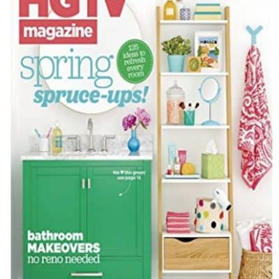 Amazon Magazine Deal: 1 Year of HGTV Magazine only $5!