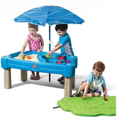 Save 20% on the Step2 Cascading Cove Sand and Water Table, Free Shipping Eligible!