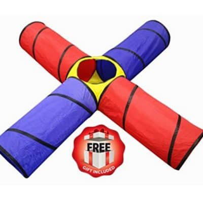 Save 46% on the Kiddey 4-way Tunnel Pop-up Fun Junction Set, Free Shipping Eligible!