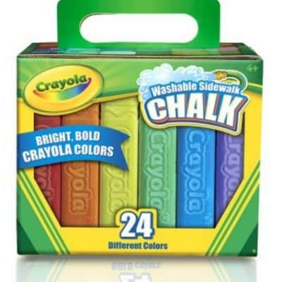 24-Count Crayola Sidewalk Chalk just $2.47, Free Shipping Eligible! {Great Easter Basket Item!}