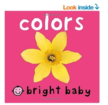 Save 50% on the Bright Baby Board Books, Free Shipping Eligible!