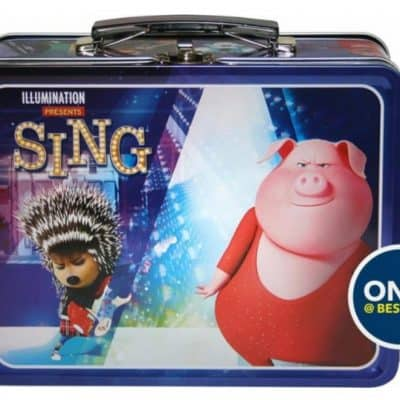 Free Sing Lunchbox with Select Movie Purchase {Prices Starting at $4.99}