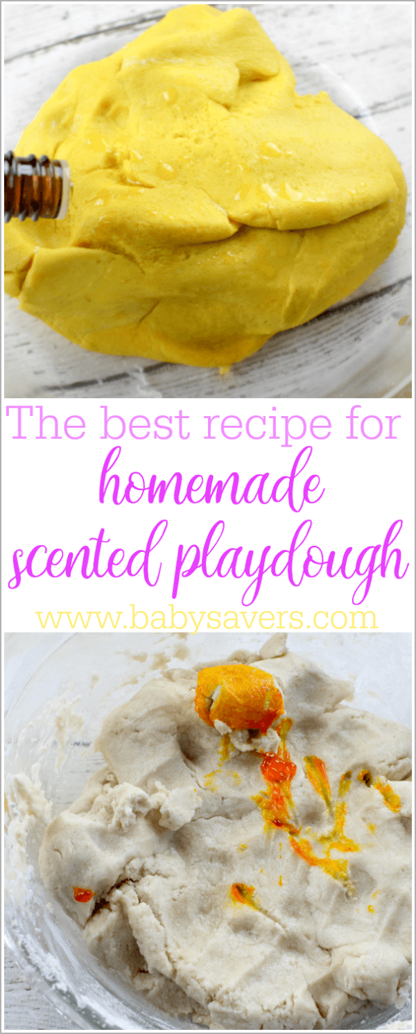 Homemade scented playdough the best no fail recipe - Homemade scent recipes ...