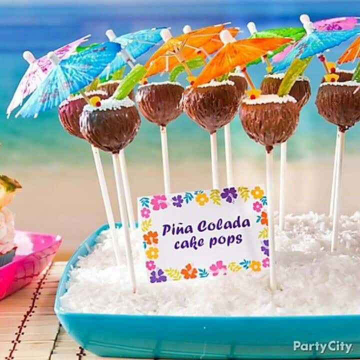 Flower Cake Pops Ideas