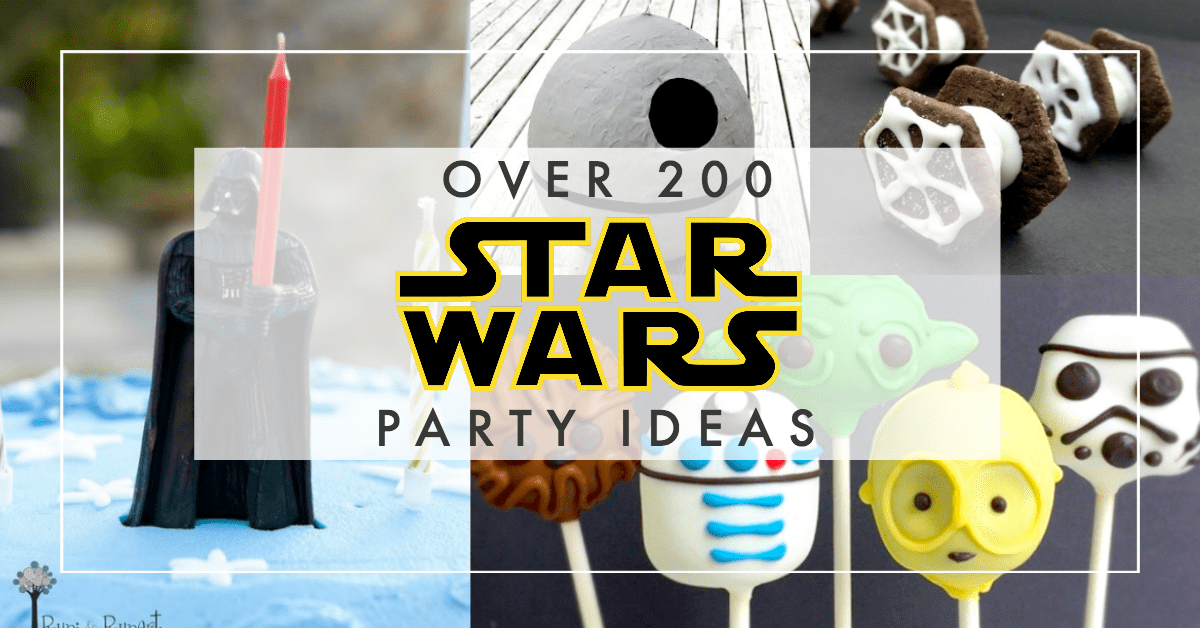 star wars party ideas with food decorations favors - Star Wars Decorations