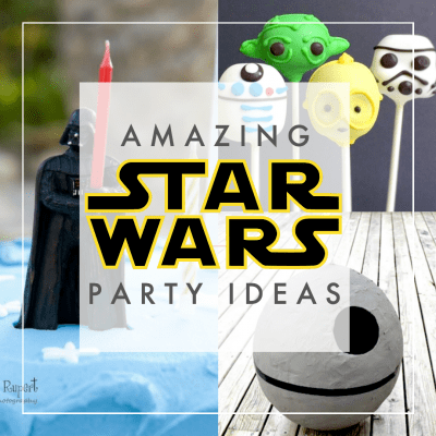Star Wars party ideas with decorations, games, food, favors and more