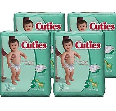 Cuties Diapers Less Than $2.00 Per Pack +Free Shipping!