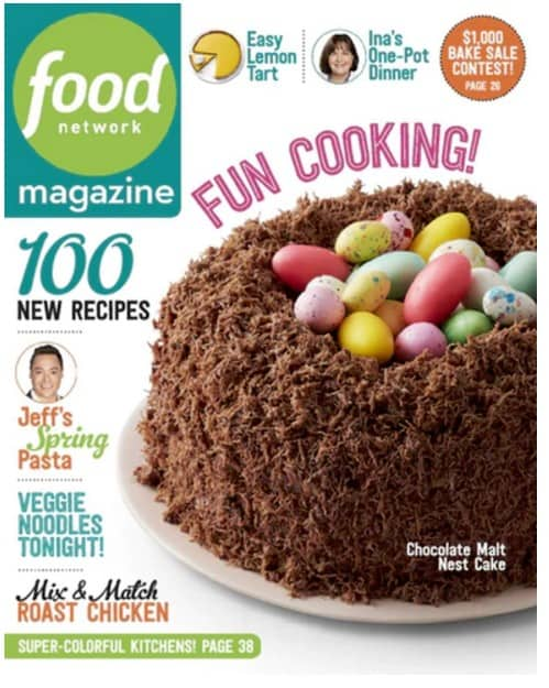 Food network magazine just 795year great gift idea for mothers day magazine deals forumfinder Image collections