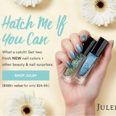 Julep April Mystery Box only $24.99 ($100 Value)!