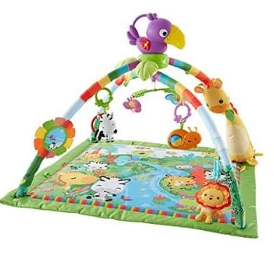 Save 29% on the Fisher-Price Music and Lights Deluxe Gym, Free Shipping Eligible!