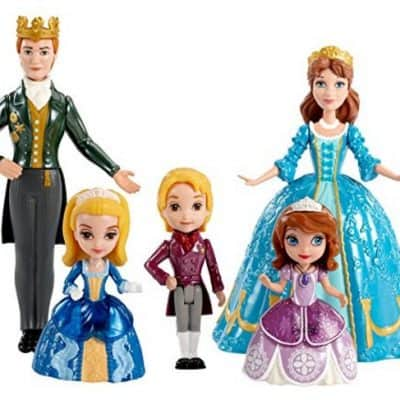Save 62% on the Disney Sofia The First Royal Family Small Doll Set, Free Shipping Eligible!