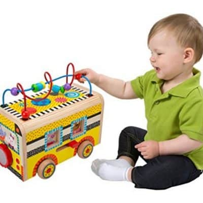 Save 44% on the ALEX Jr. Rolling Busy Bus, Free Shipping Eligible!