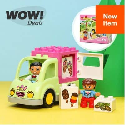 LEGO Duplo Ice Cream Building Set only $5, Disney Movies Starting at $3 and More!!
