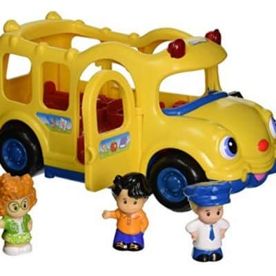 Save 51% on the Fisher-Price Little People Lil' Movers Baby School Bus, Free Shipping Eligible!