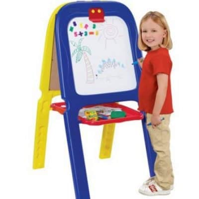 Save 45% off Crayola Double Easel, Free Shipping Eligible!