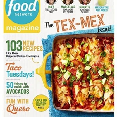 Amazon Magazine Deal: 1 Year of Food Network Magazine only $5!