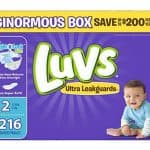 Luvs With Ultra Leakguards Diapers as low as $0.06/Diaper, Free Shipping Eligible!
