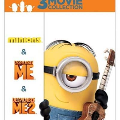 Save 45% on the Despicable Me 3-Movie Collection, Free Shipping Eligible!