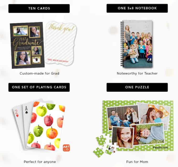 Shutterfly Promo Code Pick One For Free Ten Cards One Notepad